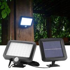 56 LED Solarlampe Solarleuchte mit Bewegungsmelder Außen Fluter Wand Lampe FUN