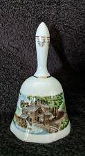 Avon 1978 Porcelain Currier & Ives Dinner Bell #26089