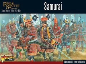 Warlord Games Pike & Shotte Samurai Infantry Set 28mm Scale Miniatures