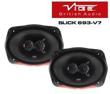 "Vibe SLICK693-V7 6""x9"" 3 Way Coaxial Car & Van Shelf Audio Speakers - 1 Pair"