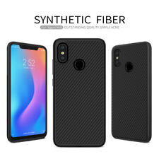 For XIAOMI Mi 8 Nillkin Synthetic Carbon Fiber Slim Matte Back Phone Case Cover