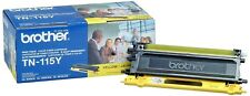 Brother TN-115Y High-yield Cyan Toner Cartridge OEM NEW FACTORY SEALED CAN USA