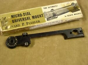 Micro Dial BUEHLER 21 scope mount for all REMINGTON 700 WEATHERBY MkV, 77ST +