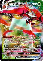 POKEMON ORBEETLE VMAX 021/185 FULL ART ULTRA RARA HOLO VOLTAGGIO SFOLGORANTE