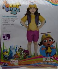 Fun World Beat Bugs Buzz Toddler Costume Size Large 3T/4T NIP