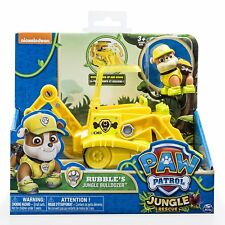 Spin Master Paw Patrol Jungle Rescue Personaggio con Veicolo Base Marshall