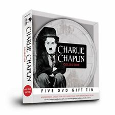 Charlie Chaplin Film Reel Collection 5 DVD Gift Tin Region 2