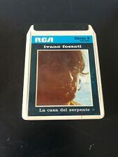 """""""La Casa del Serpente"""" Ivano Fossati stereo 8 RCA"""