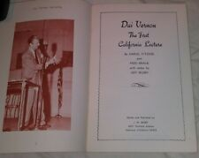 DAI VERNON CA LECTURE BK - BRAUE BUSBY CARD COIN RINGS ERDNASE CENTER TEAR CUPS