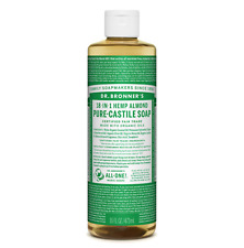 Dr Bronners Castile Liquid Soap Natural Organic Vegan Eco 473ml All Flavours