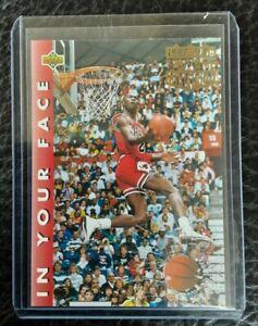 Michael Jordan UpperDeck 1992-93  #453 .slamDunk 1987-1988 championship