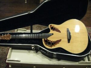 Ovation Elite 5778-4ES Limited Edition 1 of 300 1997 Natural Gloss
