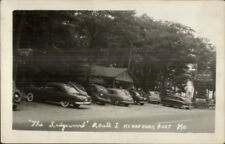 Kennebunkport ME The Ledgewood Route 1 Vintage Cars Real Photo Postcard