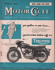 The Motor Cycle September 17 1959 Triumph Speed Twin, Manx Grand Prix 071717DBE