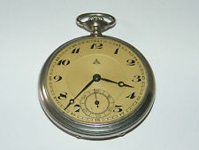 Alpina,Open Face,Taschenuhr,Uhren,Pocket Watch,Uhr,TU,Montre,Pure Nickel