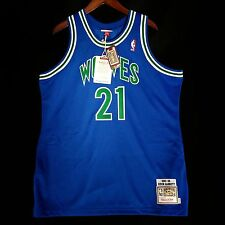 100% Authentic Kevin Garnett Mitchell & Ness Wolves NBA Jersey Size XL 48
