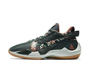 Nike Freak 2 GS 'Ashiko' Big Kids' Basketball Shoes Vintage Green DD0012-300