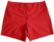 New Womens Red NEXT Shorts Size 24 LABEL FAULT
