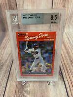 1990 Donruss Sammy Sosa Rookie #489 BGS 8.5 NM MT+ Chicago White Sox