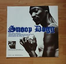 Snoop Dogg Promo Poster Ultra Rare