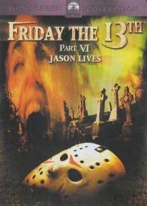Friday the 13th: Jason Lives DVD 1986 Part 6 VI - Region 4 Au R18+