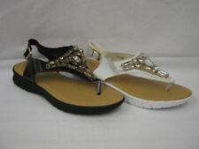 Sandalo gioiello con tacco basso (1,3-3,8 cm) per il mare da donna