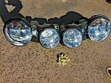 00-08 Jaguar S-Type Headlights Halogen Restored Lenses New Mounts LH & RH Both