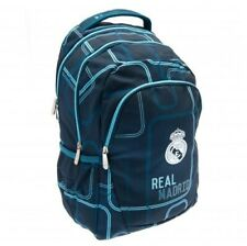 Real Madrid Football Club Crest Premium Design Backpack School Sports Bag BL