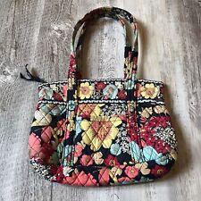Vera Bradley Handbag Floral Navy Blue