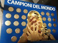 Opera Complète 30 Médailles + 30 Cartes Italie Champion Du Monde 2006 Gazette