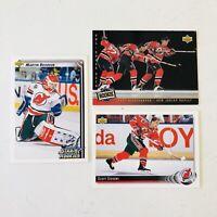 1992-93 Upper Deck Martin Broduer Rookie Scott Stevens 93-94 Niedermayer Devils