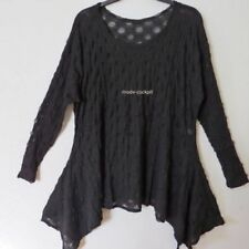 Langarm Damenblusen, - Tops & -Shirts in Größe 44 aus Mischgewebe