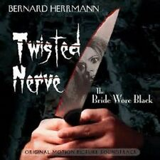 TWISTED NERVE + THE BRIDE WORE BLACK Bernard Herrmann 1200 COPY LTD SEALED OOP