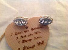 Gioielli da uomo in argento in cristallo matrimonio
