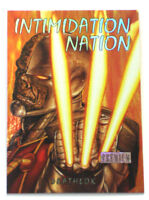 2013 Fleer Marvel Retro Intimidation Nation Card Deathlok Skybox 2 of 20 IN