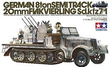 Tamiya 1/35 German 8t Sdkfz 7/1 Half Track  #35050 *Sealed*