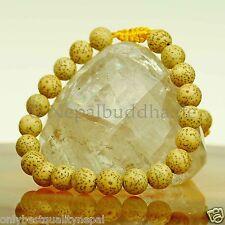 Bracelet Graines De Lotus Bijoux pour homme Travail manuel Népal s15