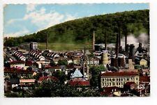 MOYEUVRE GRANDE Gross Moyeuvre Moselle CPA 57 le centre ville et les usines