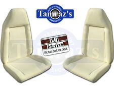 72-74 Mopar B Body Front Bucket Seat Foam Pair PUI NEW