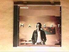 CD / GERARD MANSET / MATRICE / AVEC RAYURES SANS GENE POUR L'ECOUTE