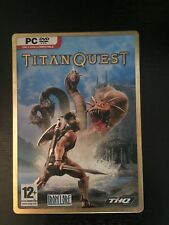 TITAN QUEST - Steelbook PC DVD-ROM GAME with manual and progression chart