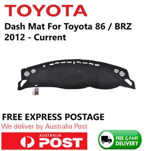 AU For Toyota 86 Subaru BRZ 2012-2018 Dashmat Dashboard Sun Cover Dash Mat Pad