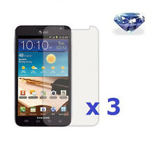 3 x Diamond Sparkling Glitter Screen Protector Samsung Galaxy Note LTE SGH-i717