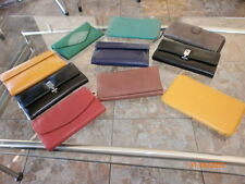 WOMENS (10) LEATHER WALLETS, TRADE DAY BILLFOLDS, CHECKBOOK HOLDERS SALES GIFTS