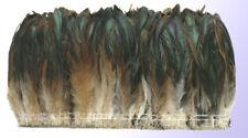 "1 yd Strung Half Bronze Rooster Coque Tails 6-8"" L"