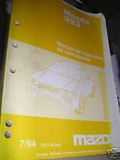 Mazda 323 années 1995 : MANUEL D'ATELIER carrosserie