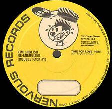 KIM ENGLISH - Re-Energized (LP1) - Nervous