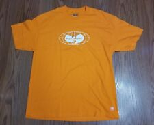 NWT Wu Tang wu wear p globe orange s/s t shirt sz large wu official