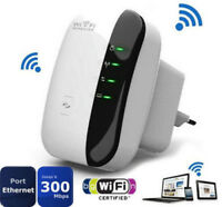 300Mbps 802.11 Wifi Repeater Wireless-N AP Signal Extender Booster EU Plug RA