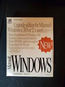 "Vintage MICROSOFT WINDOWS 3.1 Upgrade Edition - 3.5"" Disks"